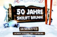 50 Jahre Skilift Brunni